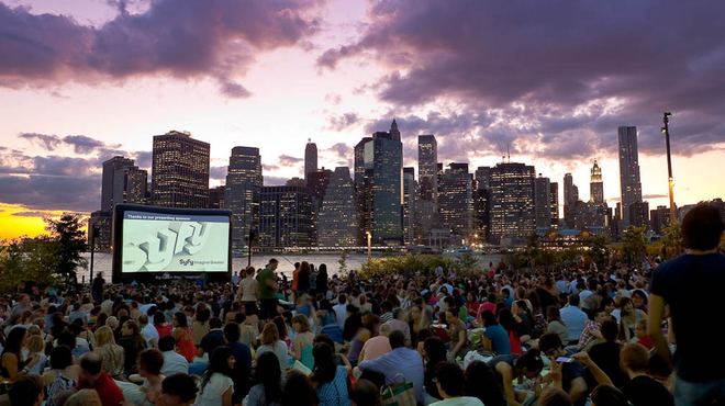 NYC outdoor movie screening free events