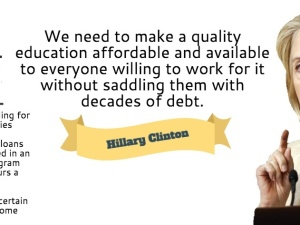 2016 Presidential Candidates on College Affordability and Student Debt